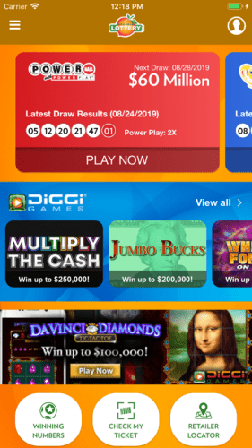 Georgia Lottery Official App 0