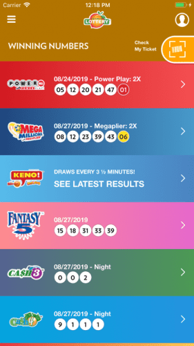 Georgia Lottery Official App 1