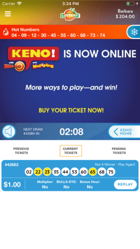 Georgia Lottery Official App 3